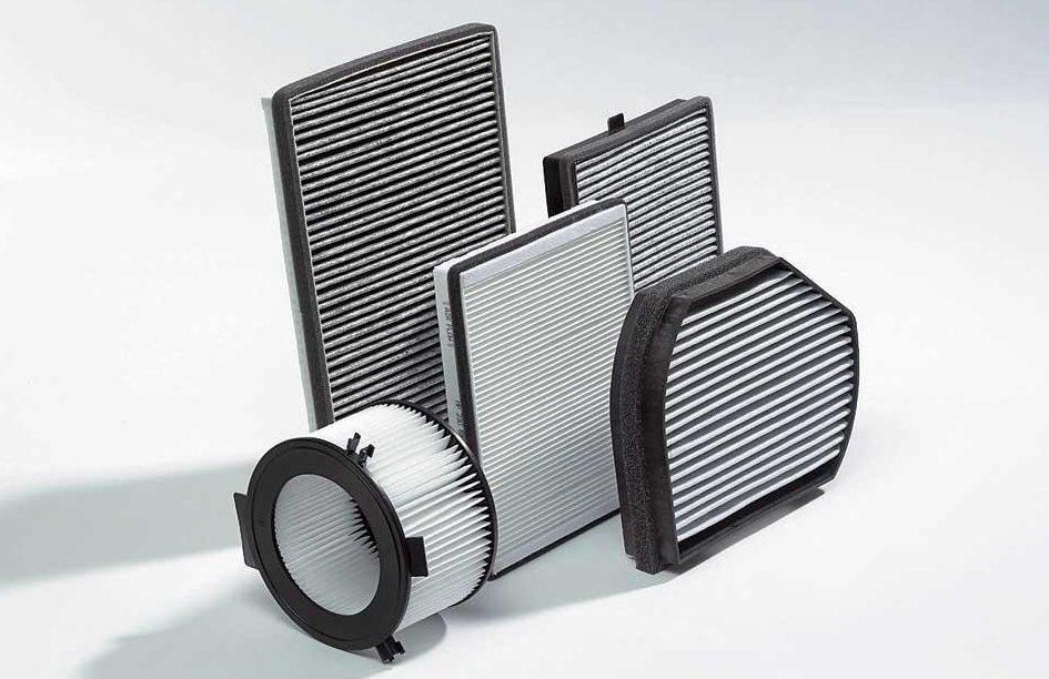 Виды салонных фильтров