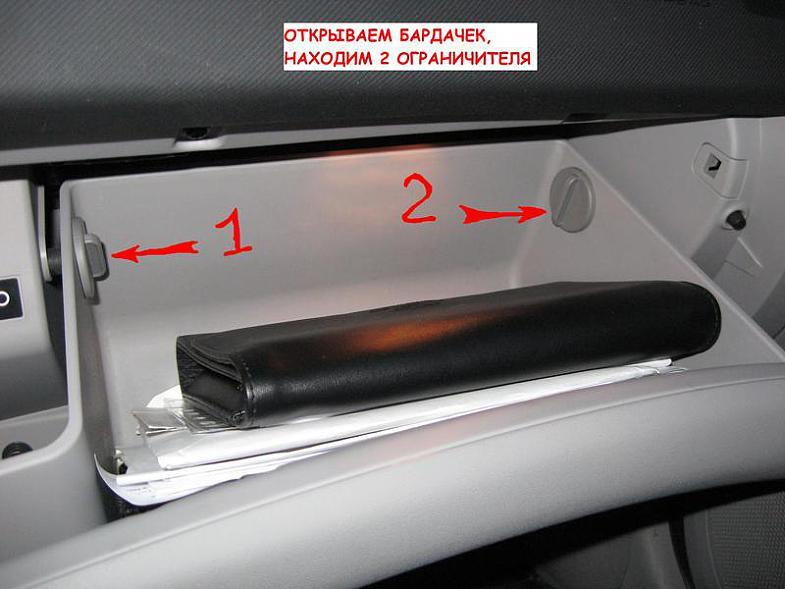 Kia ProCeed замена салонного фильтра