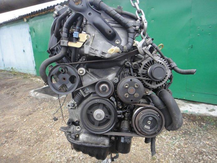 Расположение ремня на двигателе Тойоты Рав 4