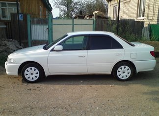 Тойота Карина замена салонного фильтра