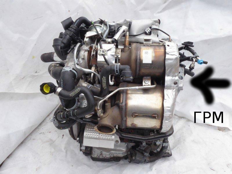 двигатель автомобиля модели Гольф 7 - 8