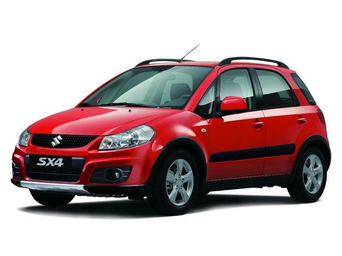 Замена салонного фильтра Suzuki SX4