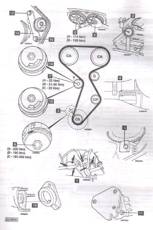 Инструкция к замене ременной передачи ГРМ