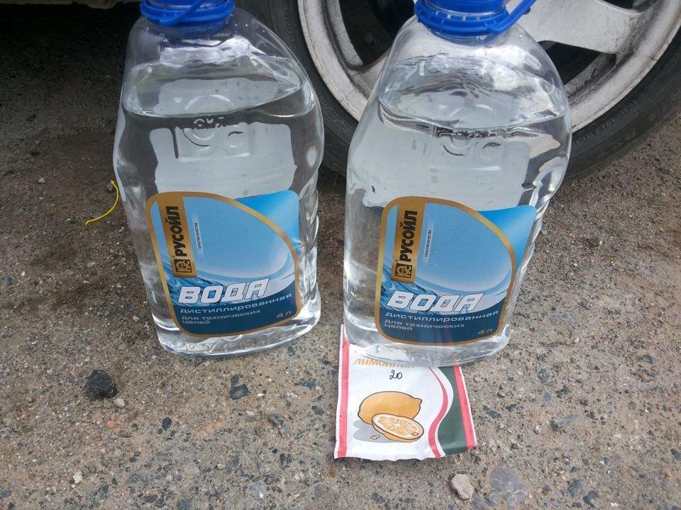Промывка системы охлаждения ВАЗ 2107 лимонной кислотой