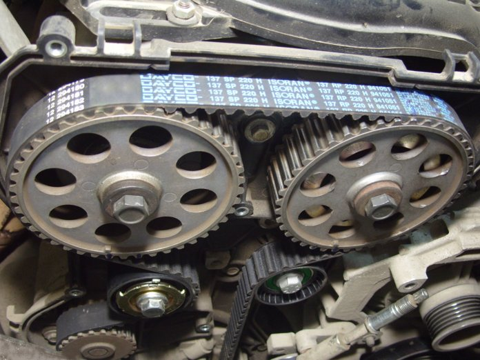 Механизм ГРМ в автомобиле Honda CR-V